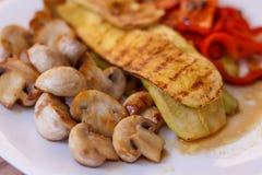 Grilled Tasty Vegetables Stock Images
