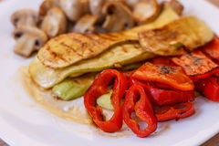 Grilled Tasty Vegetables Stock Photo
