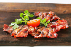 Grilled Thin Sliced Pork Royalty Free Stock Photography