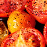 Grilled tomatoes Royalty Free Stock Photo