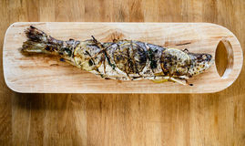 Grilled trout Royalty Free Stock Images