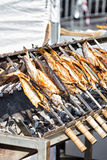 Grilled trouts Stock Photo