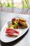 Grilled tuna salad Royalty Free Stock Photo