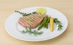 Grilled Tuna steak Royalty Free Stock Photos