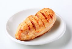 Grilled turkey breast Royalty Free Stock Image