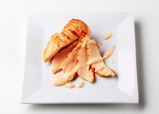 Grilled turkey breast Stock Image