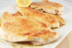 Grilled turkey breast Royalty Free Stock Images
