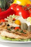 Grilled turkey steak Royalty Free Stock Photo