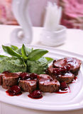 Grilled veal meat Royalty Free Stock Photography