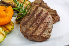 Grilled Veal steak Royalty Free Stock Photo