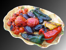 Grilled vegetable Royalty Free Stock Photos