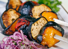 Grilled Vegetable barbeque Stock Photos