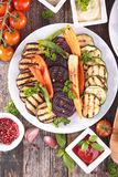 Grilled vegetable Royalty Free Stock Images