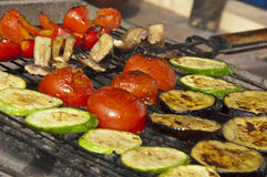 Grilled vegetables Stock Photo