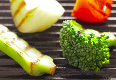 Grilled vegetables Royalty Free Stock Photography