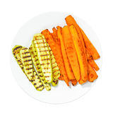 Grilled vegetables Royalty Free Stock Images