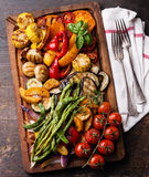 Grilled vegetables Stock Photography