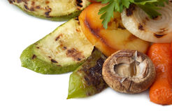 Grilled vegetables dish Stock Images