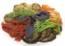 Grilled vegetables Royalty Free Stock Photo