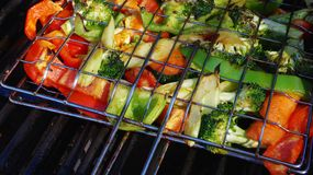 Grilled vegetables. Stock Photography