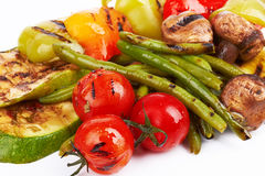 Grilled vegetables Stock Image
