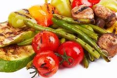 Grilled vegetables Stock Image