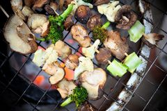 Grilled Veggies Stock Photography
