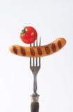 Grilled Vienna sausage Royalty Free Stock Image