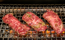 Grilled wagyu beef Royalty Free Stock Images