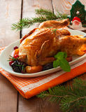 Grilled whole chiken Stock Images