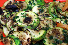 Grilled zucchini Royalty Free Stock Photography