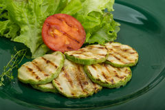 Grilled zucchini Royalty Free Stock Images