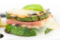 Grilled zucchini Royalty Free Stock Image