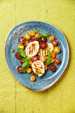 Grilled zucchini with tomato Royalty Free Stock Photo