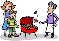 Griller Images stock