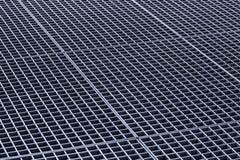 Grilles de conduit de grilles et en métal de gouttière de fer photo libre de droits
