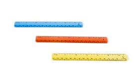 grilles de tabulation trois de couleur Photo stock