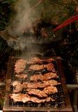grillfest Fotografering för Bildbyråer
