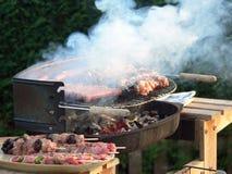 grillfest Royaltyfria Bilder