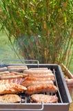 grillfest Arkivbilder
