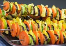 Grillfest av grönsaker Arkivfoton