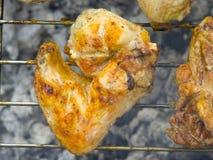 grillfesten chiken Royaltyfria Bilder