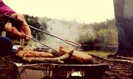 grillfester Arkivbild