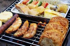 grillfestgaller Arkivbild