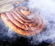 grillfestkorv Arkivbild
