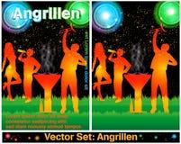 Grillfestparti Arkivbilder
