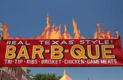 grillfeststil texas arkivbild