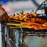 grilling Στοκ φωτογραφίες με δικαίωμα ελεύθερης χρήσης