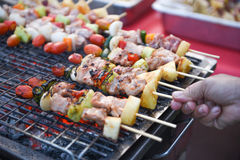 Grilling bbq. For the party royalty free stock photo