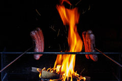 Grilling Stock Photography